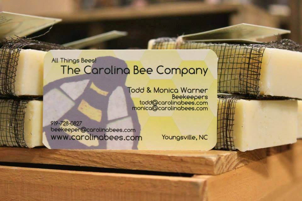 BeeClean! Soap - Hand-crafted; Slow cured. All made with a bit of our beeswax and honey.