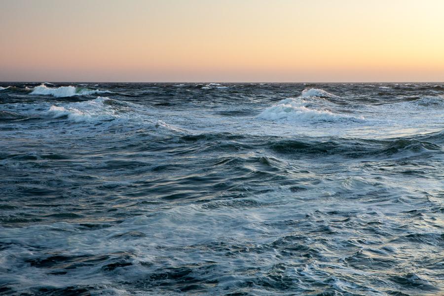 Pacific Ocean view from San Francisco California