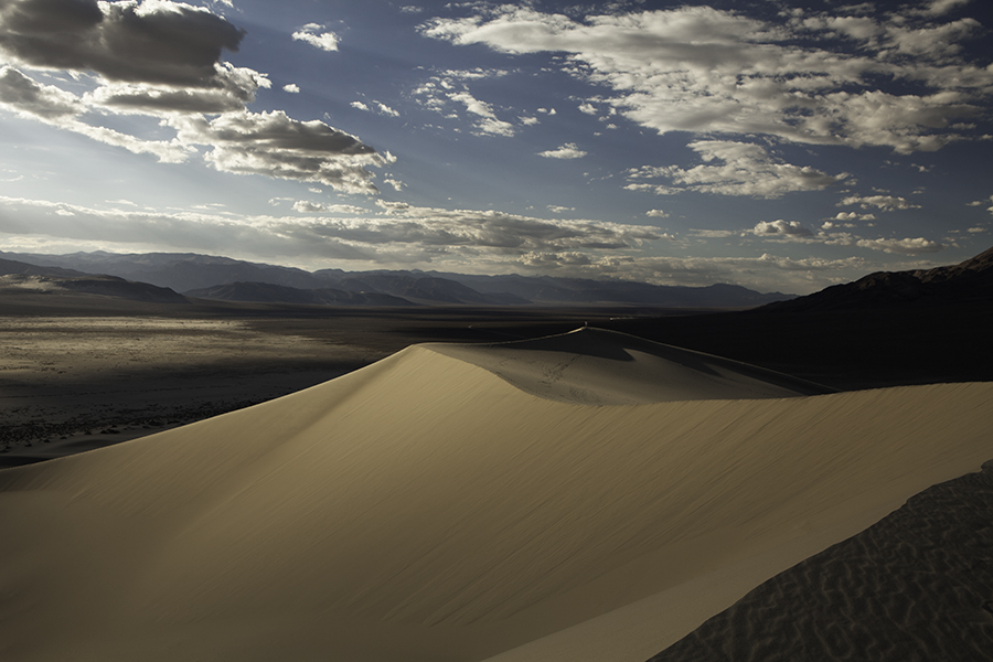 Eureka Dunes in Death Valley