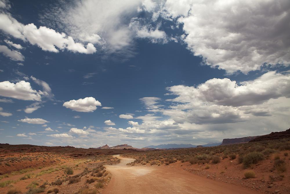 road in rural Arizona
