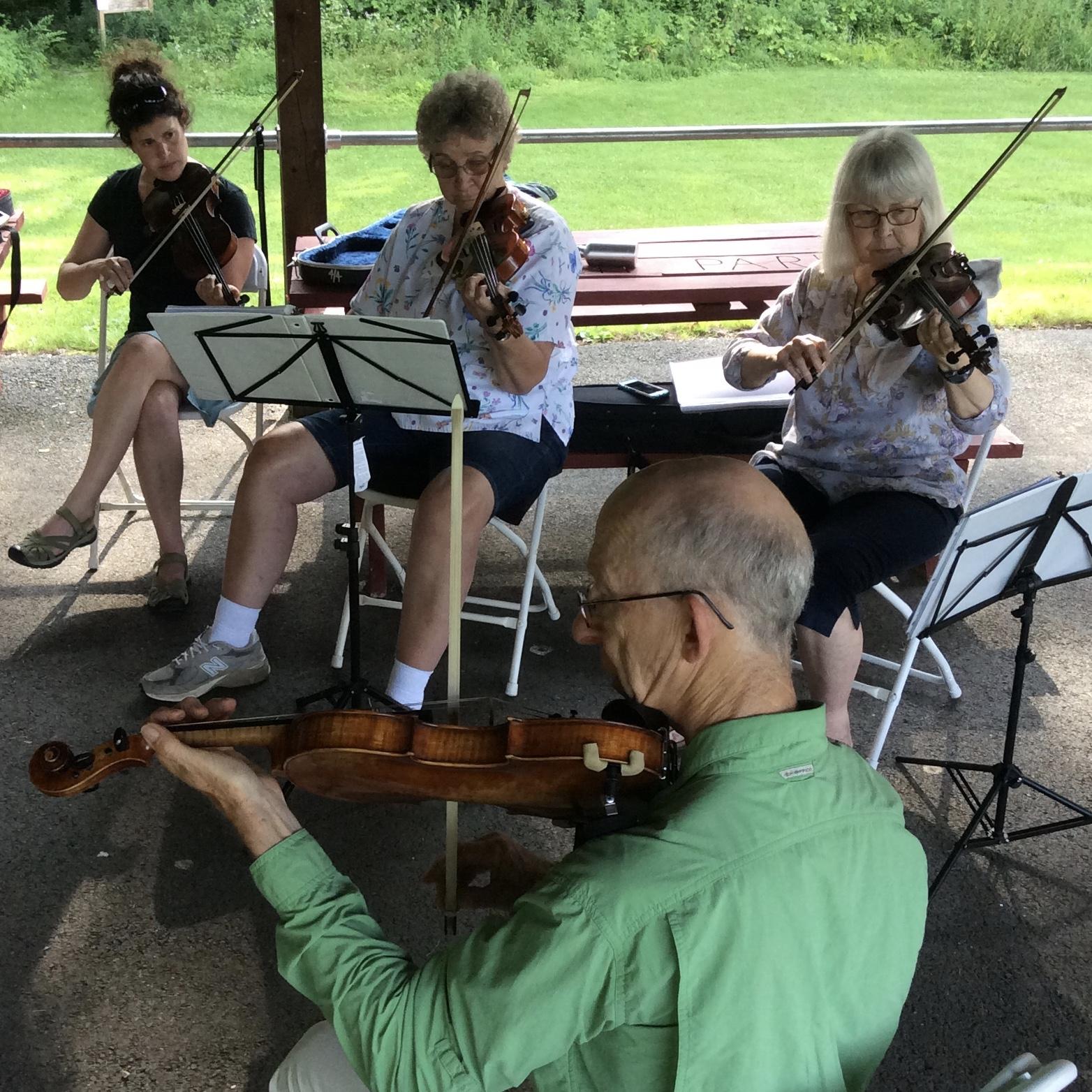 Fiddle workshop - Berkshire Summer Strings 2016