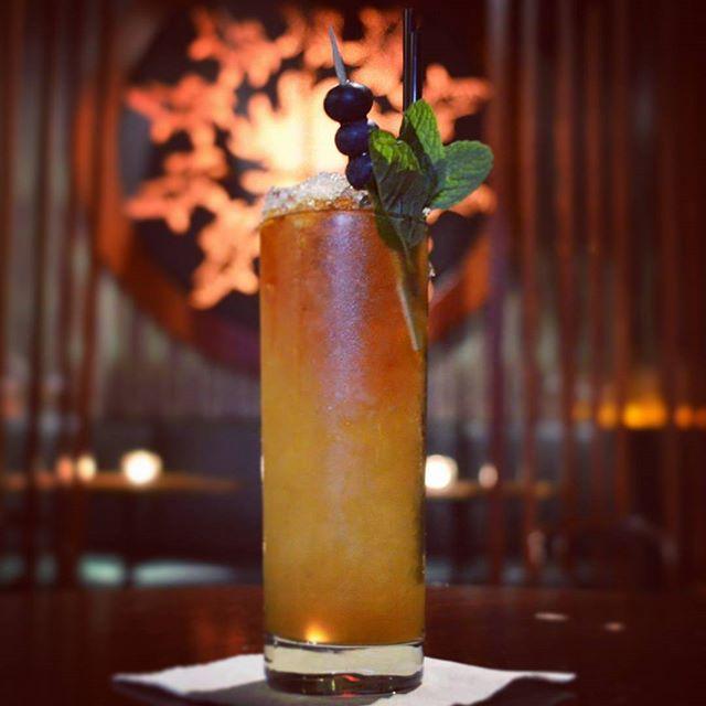 The Golden City Cobbler, Lustau Amontillado, plum vinegar, Citrus, And Maple.  One of the low alcohol options available on our signature list.  #liverpoolst #cantrobthecobb #crushedicesonice #cocktails #melbournebars #melbournecocktails #cobbler