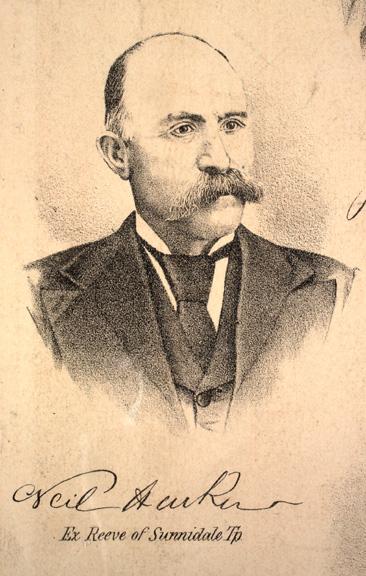 Neil Harkin, Ex-Reeve of Sunnidale Township
