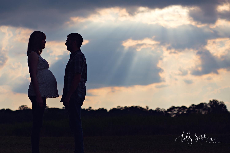 sunset-maternity-couples-pregnancy-photos-atlanta