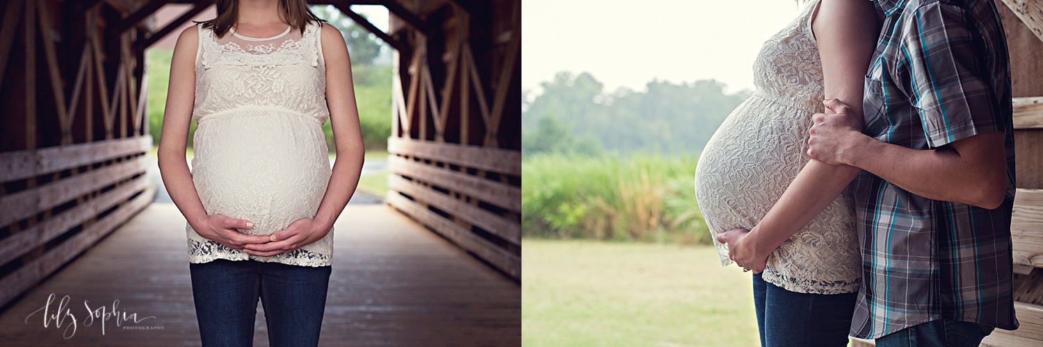 covered-wood-bridge-atlanta-pregnancy-maternity-couples-photography