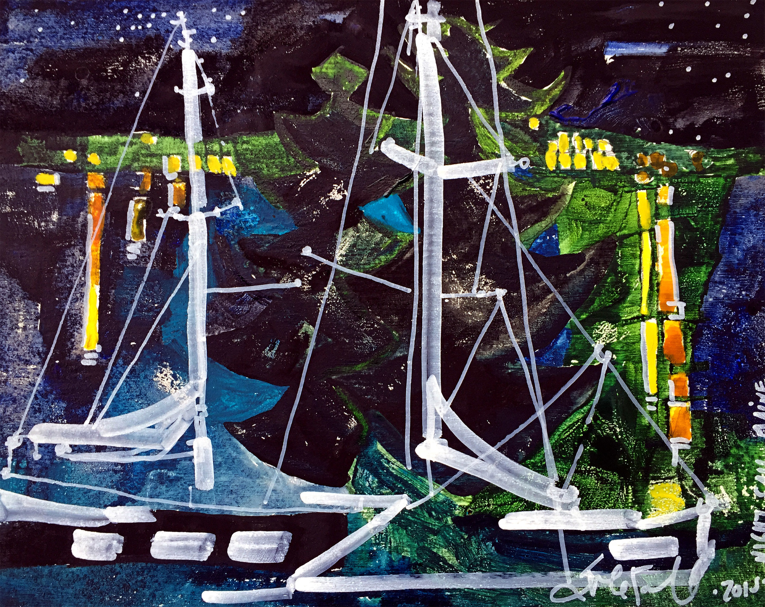 Sails Moored