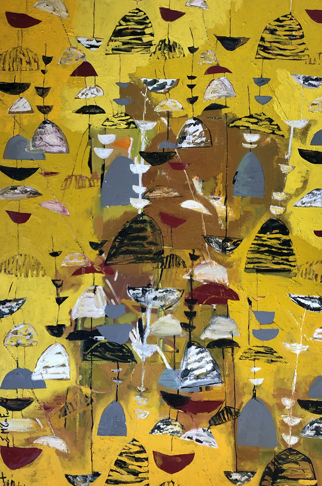 Yellow. Tribute to Lucienne Day