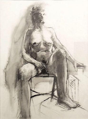 Seated Figure #2