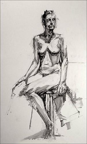 Seated Figure #4