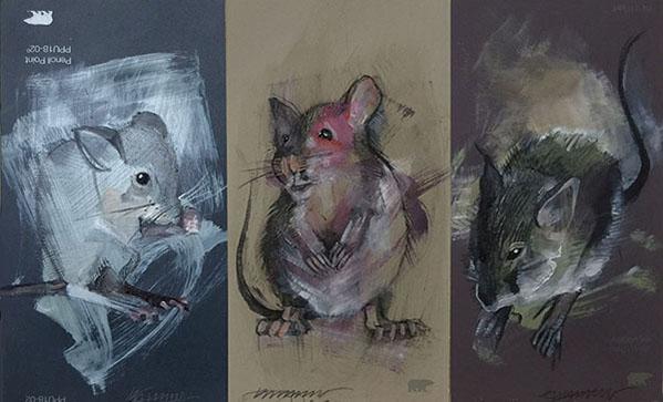 Mouse Portrait #3