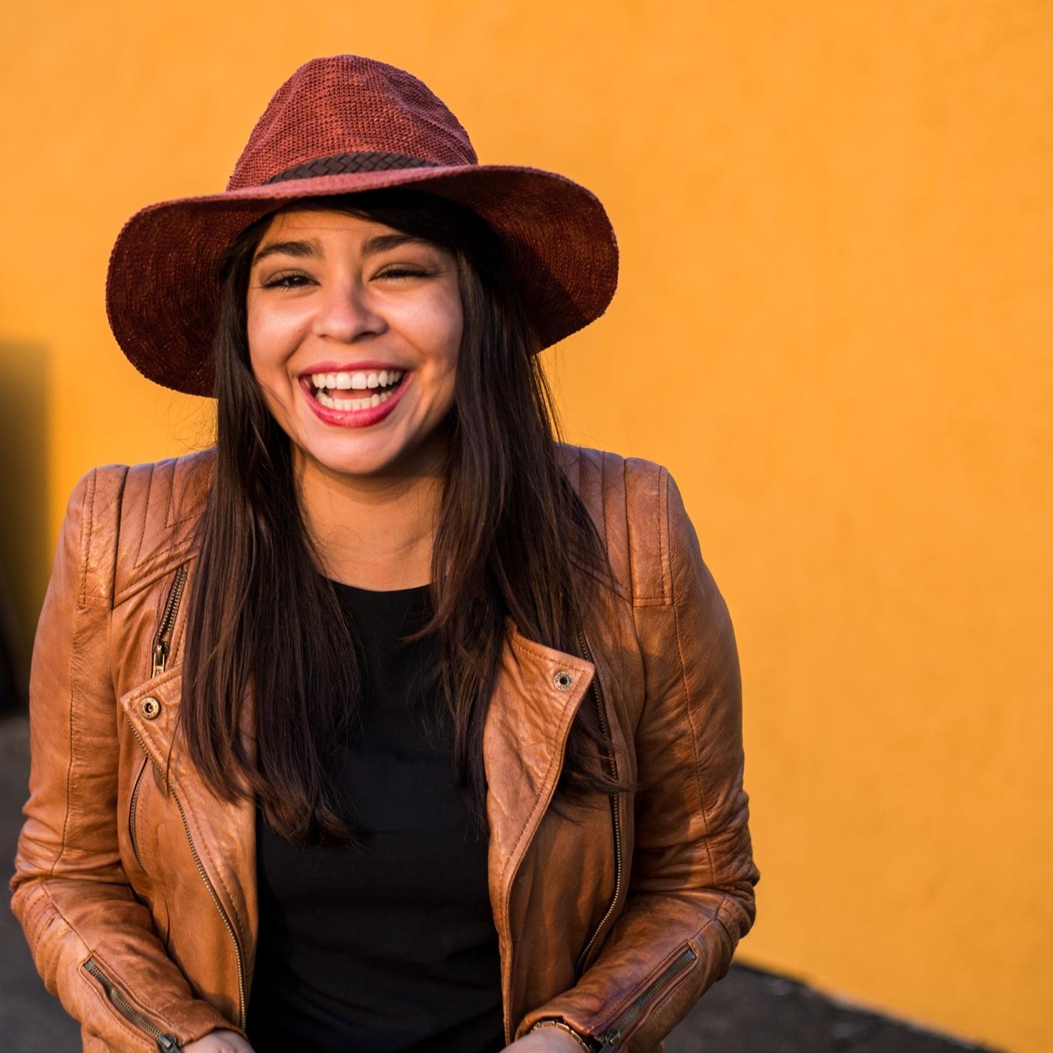 Vanessa Laughing