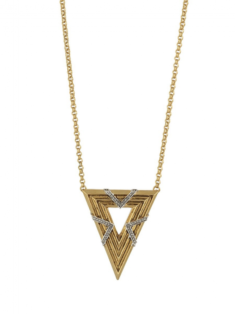 Vintage Muse Pendant Necklace