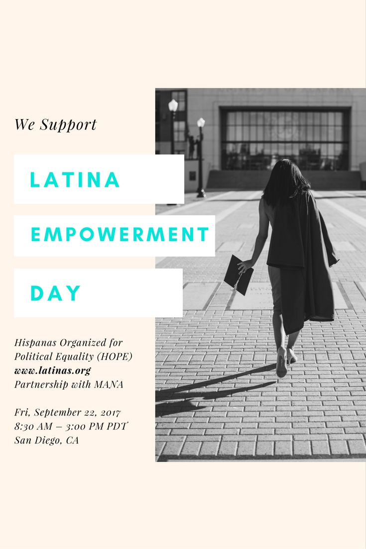 Latinas and Pipeline Pepper support