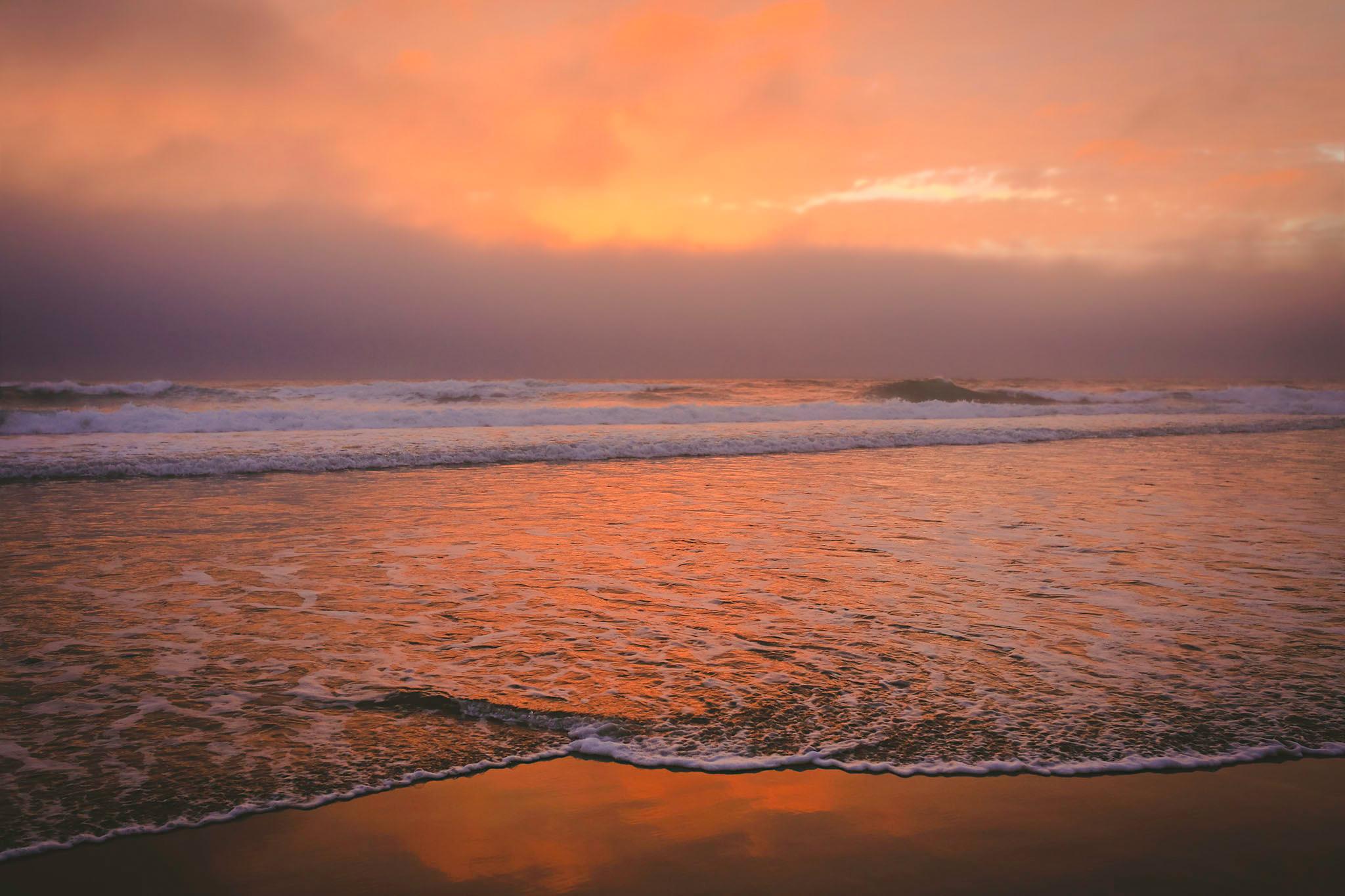 sunset, oregon coast, jennifer picard photography, travel photographer