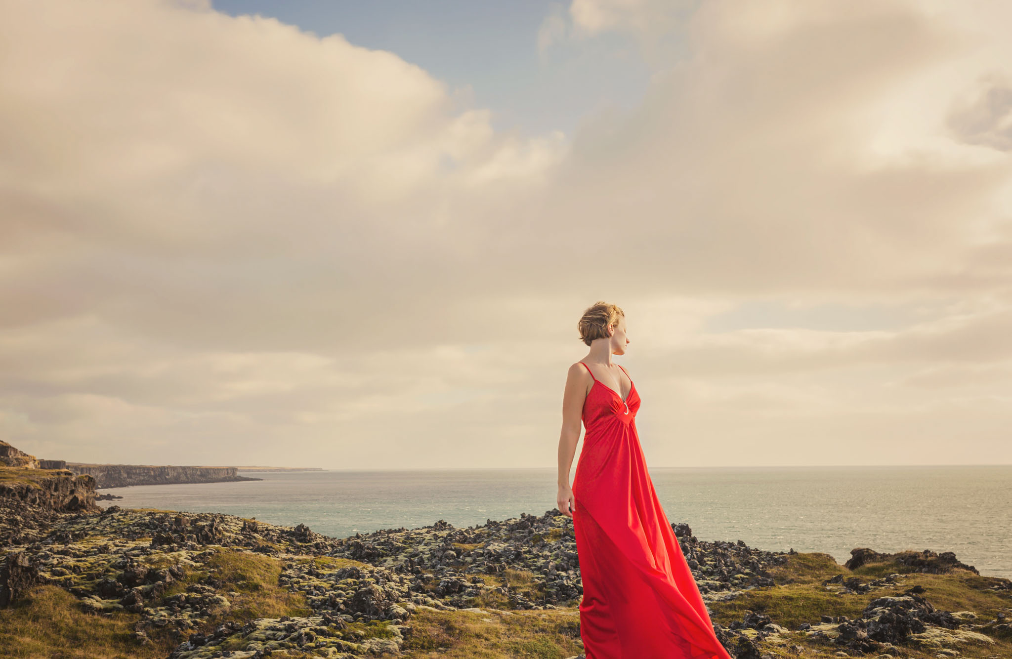 red dress project, iceland, jennifer picard photography, travel photographer