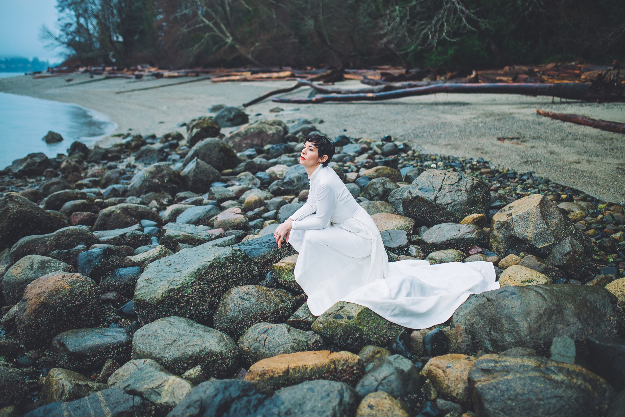 westcoast bridal editorial, jennifer picard photography, vancouver wedding photographer