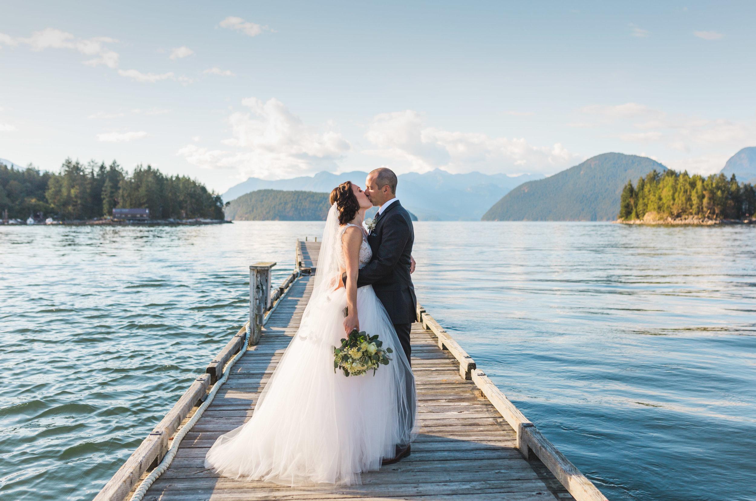 West Coast Wilderness Lodge Wedding, Sunshine Coast BC Wedding Photographer