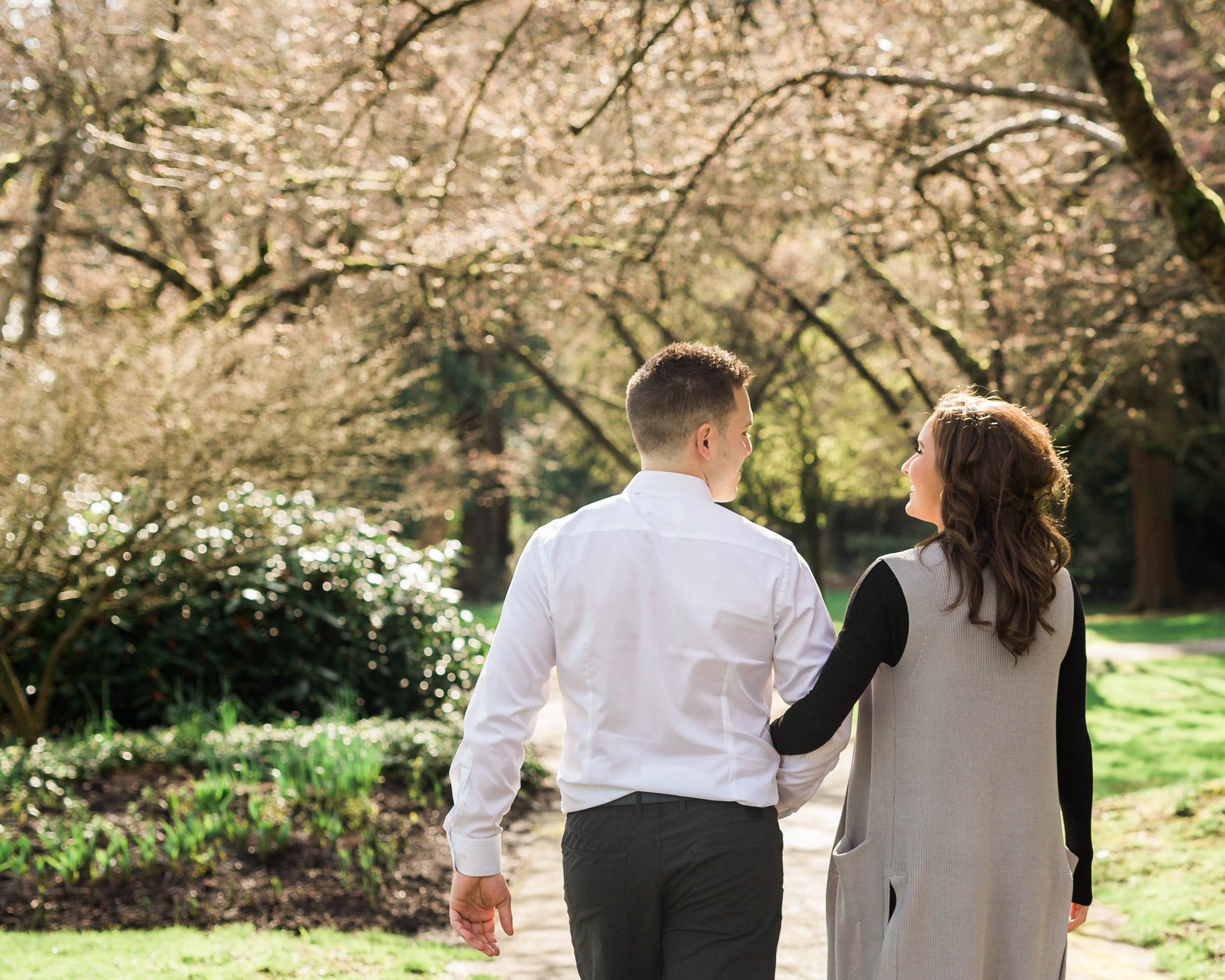 Stanley Park Engagement Photos, Vancouver Engagement Photos, Vancouver Wedding Photographer, Jennifer Picard Photography