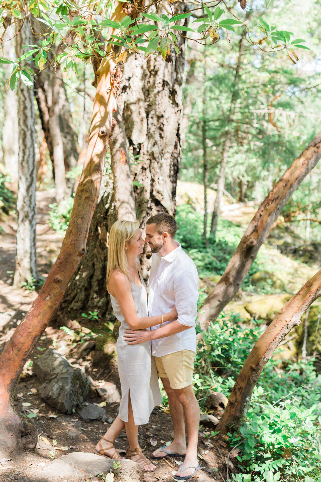 Sunshine Coast Engagement Photos, Smuggler Cove engagement, Vancouver wedding photographer, sunshine coast wedding photographer, jennifer picard