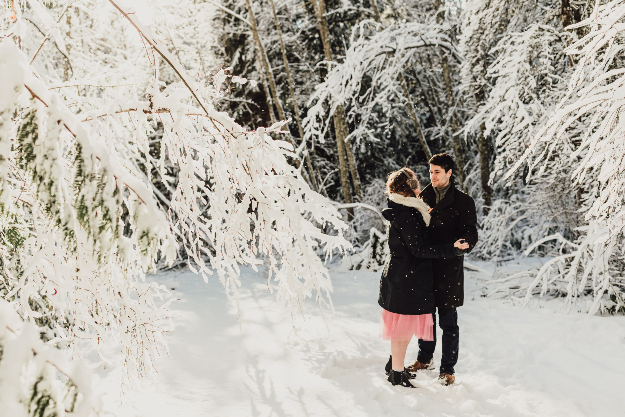 Snowy Engagement Photos - Gibsons Engagement Photos - Sunshine Coast Engagement Photos - Vancouver Wedding Photographer and Videographer - Jennifer Picard Photography105.JPG