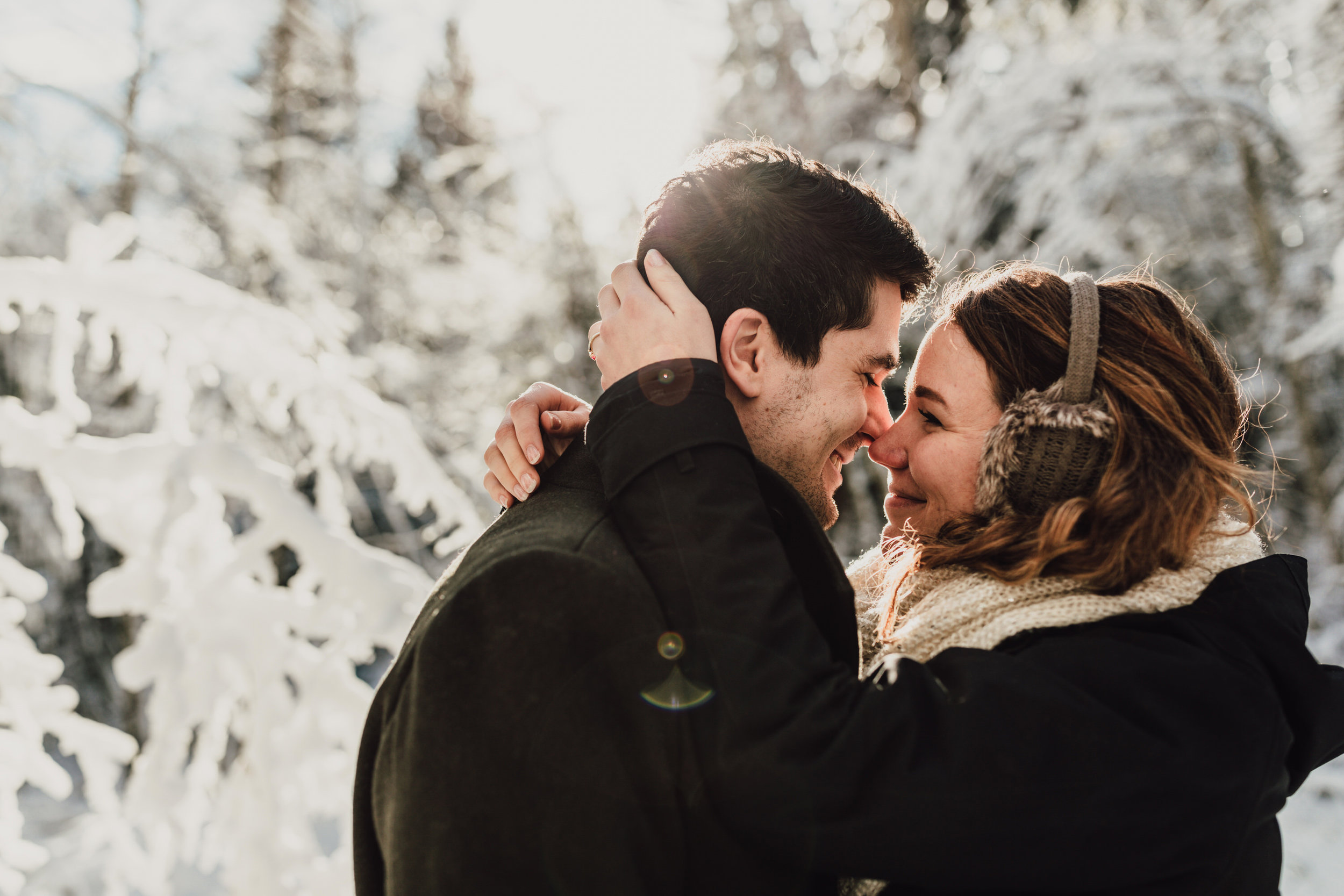 Snowy Engagement Photos - Gibsons Engagement Photos - Sunshine Coast Engagement Photos - Vancouver Wedding Photographer and Videographer - Jennifer Picard Photography102.JPG