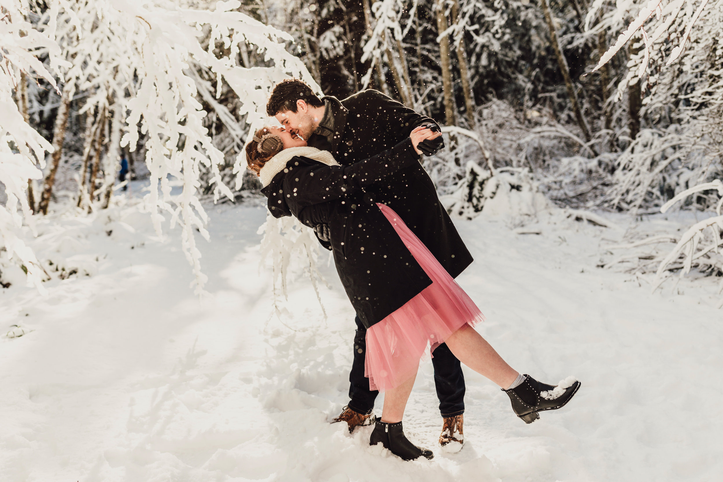 Snowy Engagement Photos - Gibsons Engagement Photos - Sunshine Coast Engagement Photos - Vancouver Wedding Photographer and Videographer - Jennifer Picard Photography106.JPG