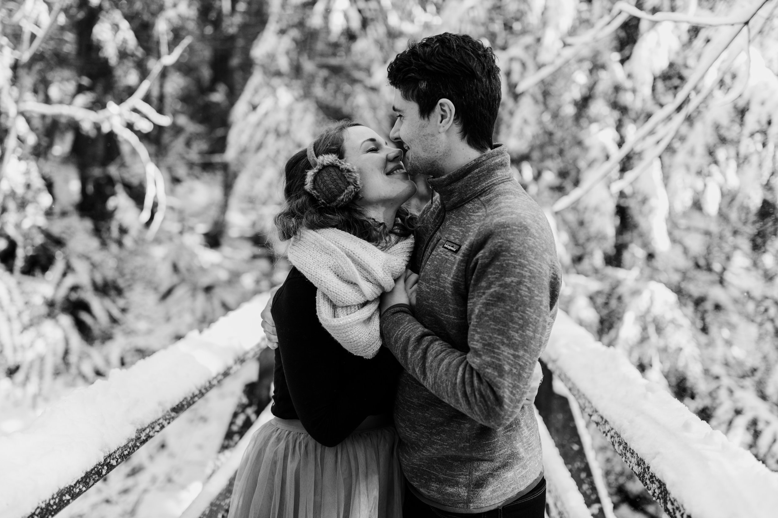 Snowy Engagement Photos - Gibsons Engagement Photos - Sunshine Coast Engagement Photos - Vancouver Wedding Photographer and Videographer - Jennifer Picard Photography110.JPG