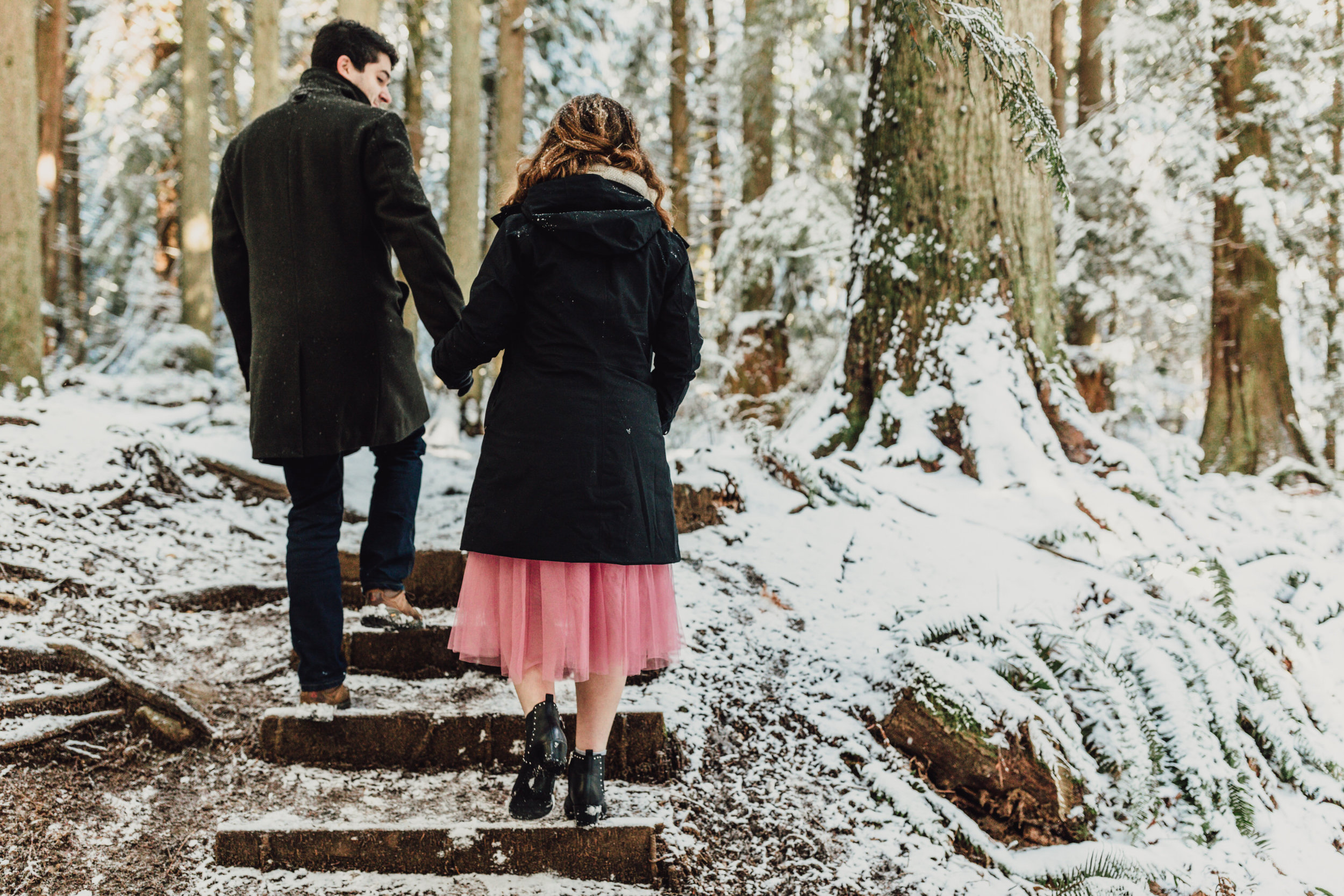 Snowy Engagement Photos - Gibsons Engagement Photos - Sunshine Coast Engagement Photos - Vancouver Wedding Photographer and Videographer - Jennifer Picard Photography115.JPG