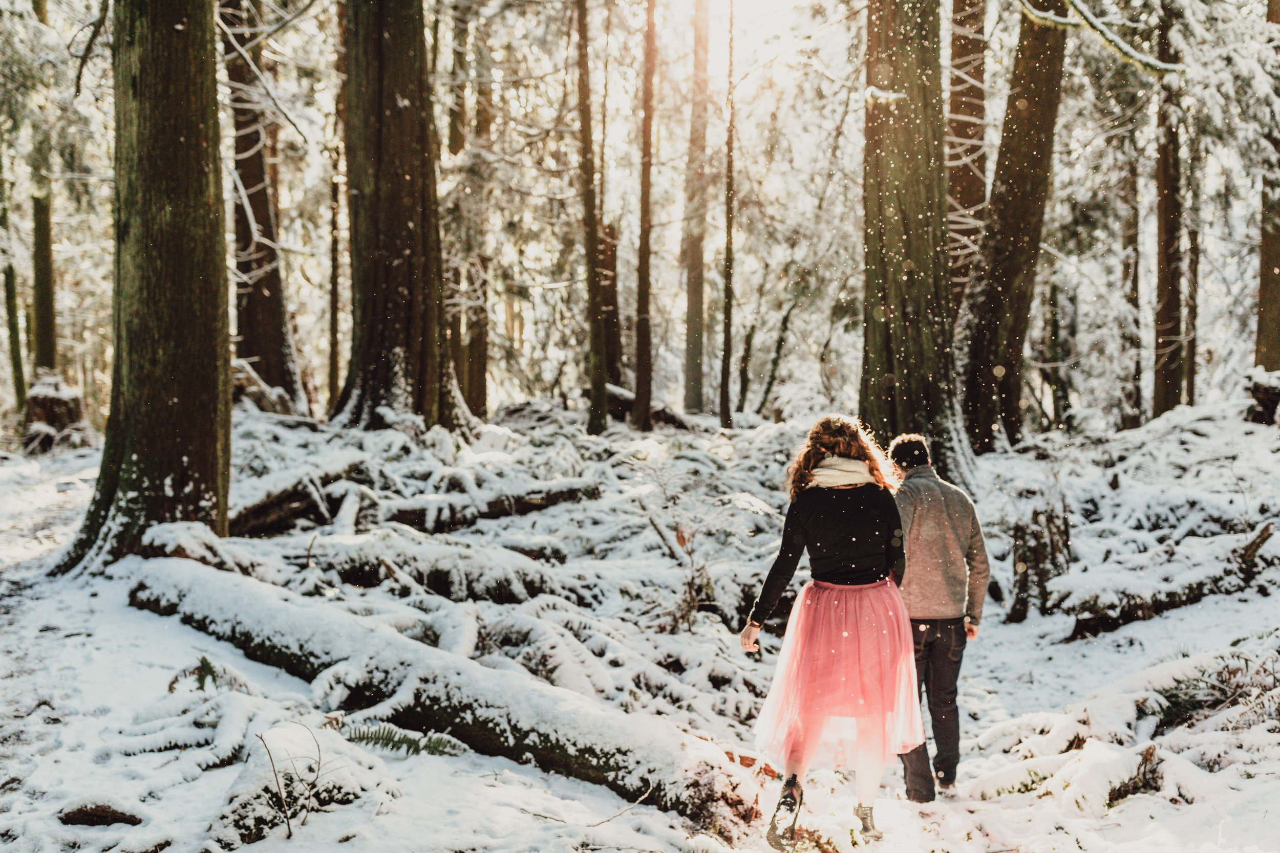 Snowy Engagement Photos - Gibsons Engagement Photos - Sunshine Coast Engagement Photos - Vancouver Wedding Photographer and Videographer - Jennifer Picard Photography064.JPG