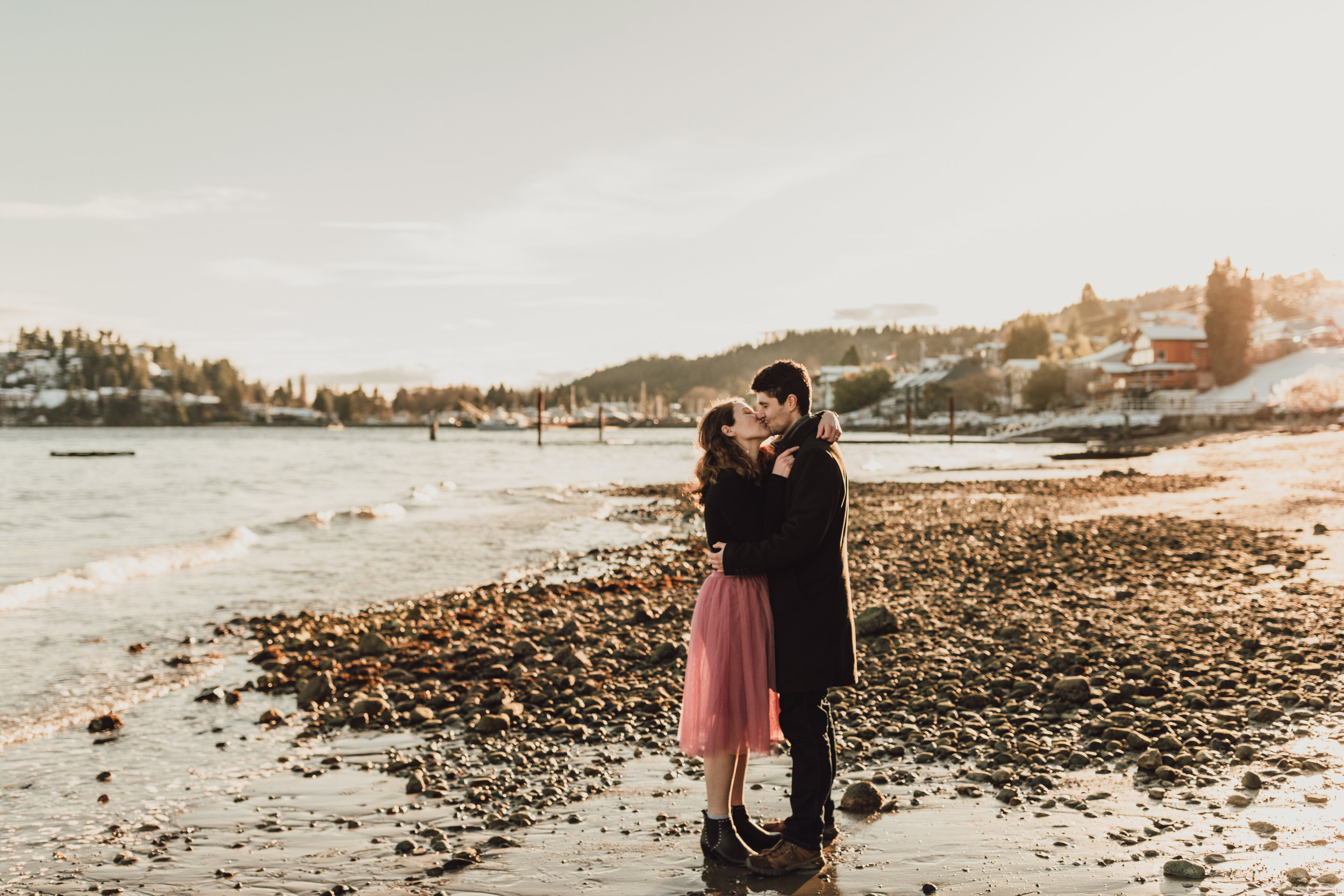 Snowy Engagement Photos - Gibsons Engagement Photos - Sunshine Coast Engagement Photos - Vancouver Wedding Photographer and Videographer - Jennifer Picard Photography072.JPG