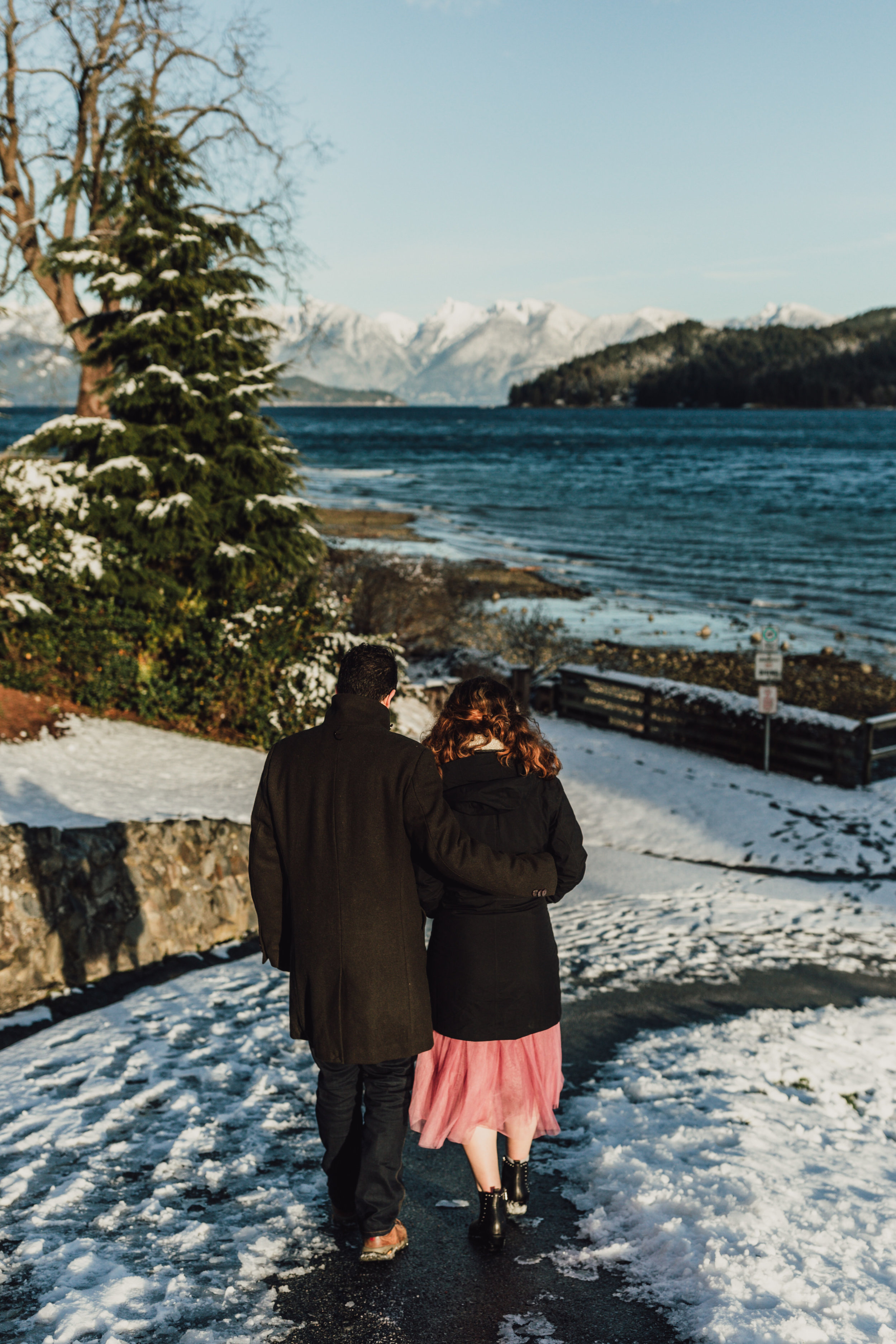 Snowy Engagement Photos - Gibsons Engagement Photos - Sunshine Coast Engagement Photos - Vancouver Wedding Photographer and Videographer - Jennifer Picard Photography086.JPG