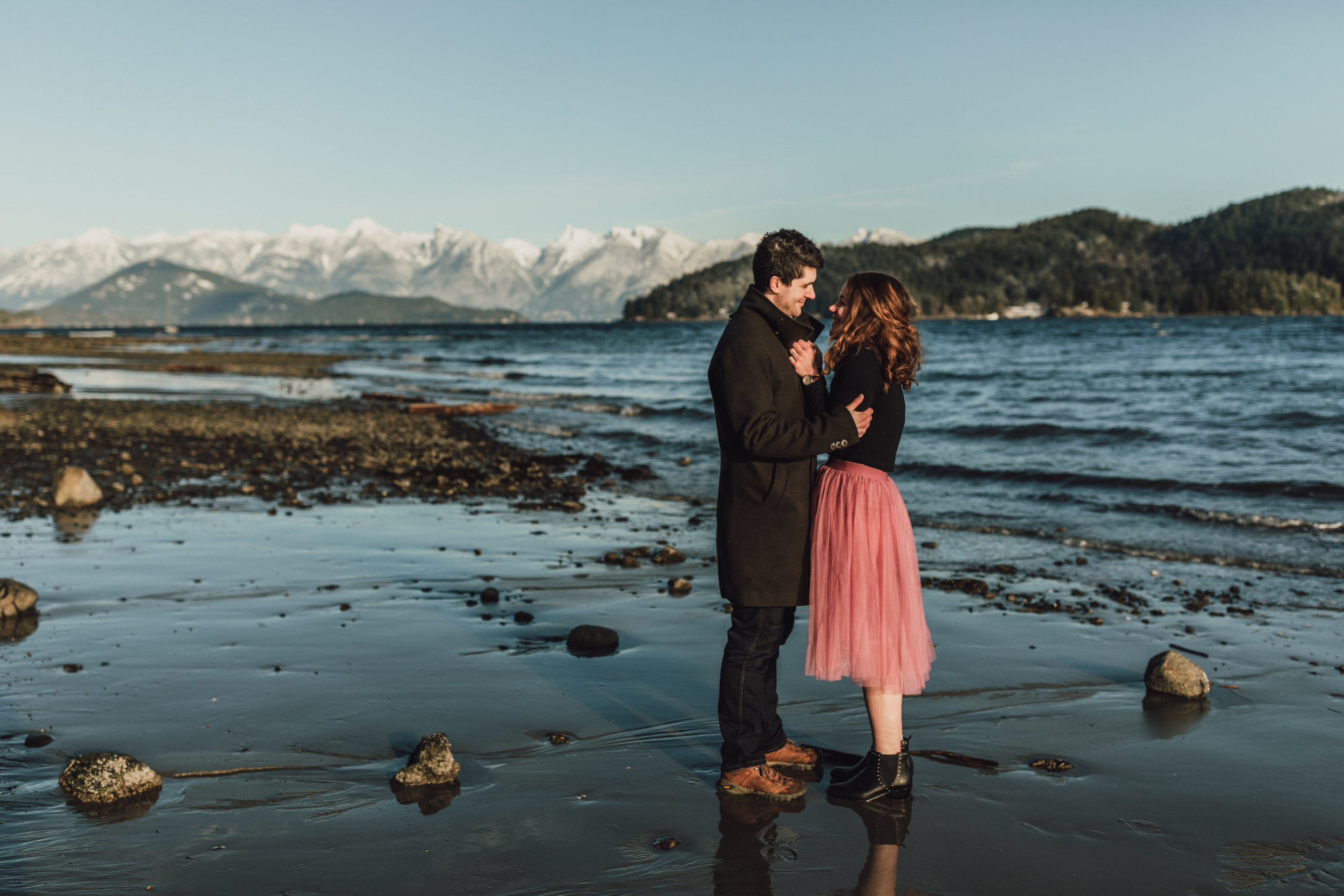 Snowy Engagement Photos - Gibsons Engagement Photos - Sunshine Coast Engagement Photos - Vancouver Wedding Photographer and Videographer - Jennifer Picard Photography091.JPG