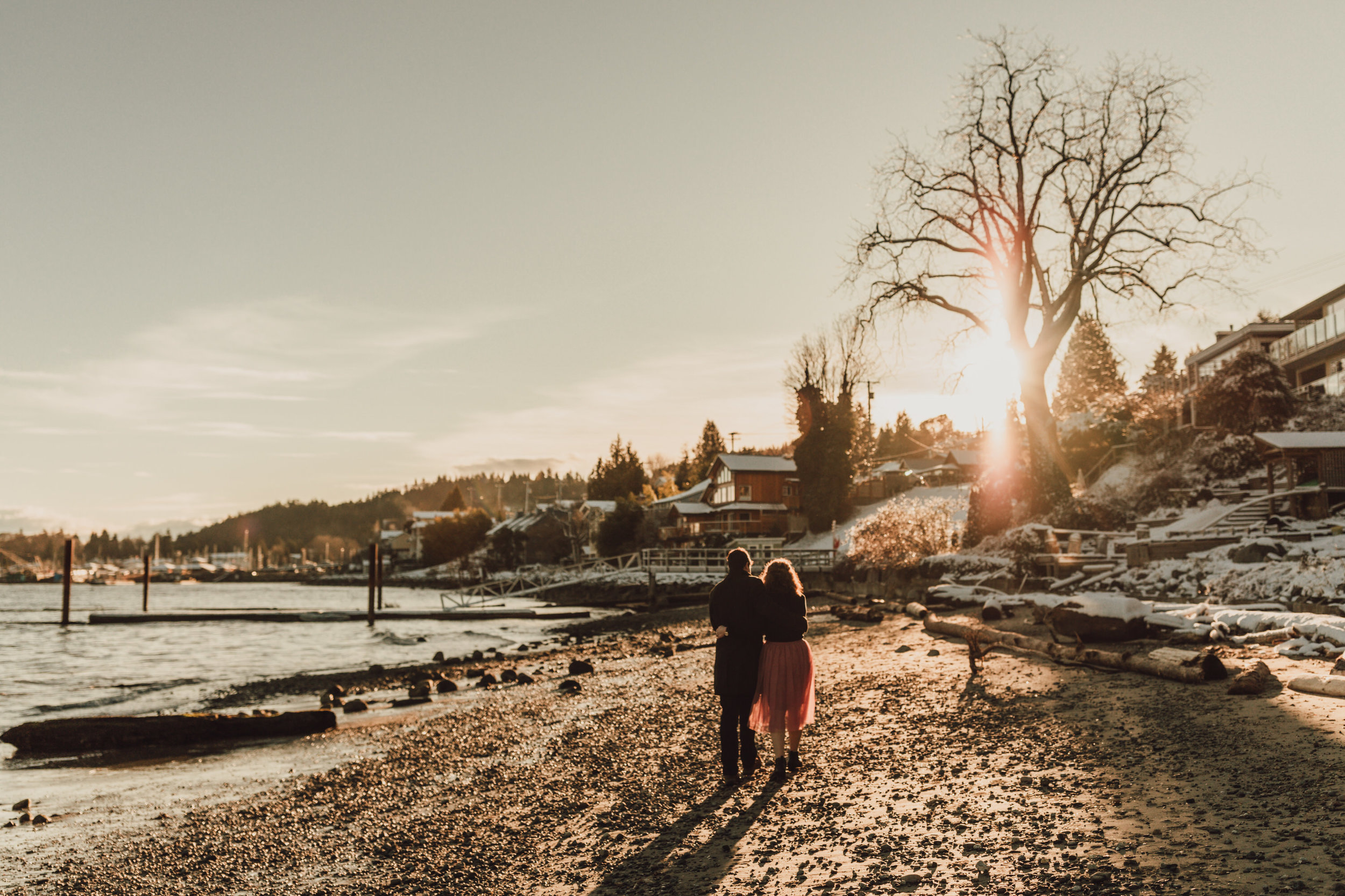 Snowy Engagement Photos - Gibsons Engagement Photos - Sunshine Coast Engagement Photos - Vancouver Wedding Photographer and Videographer - Jennifer Picard Photography082.JPG