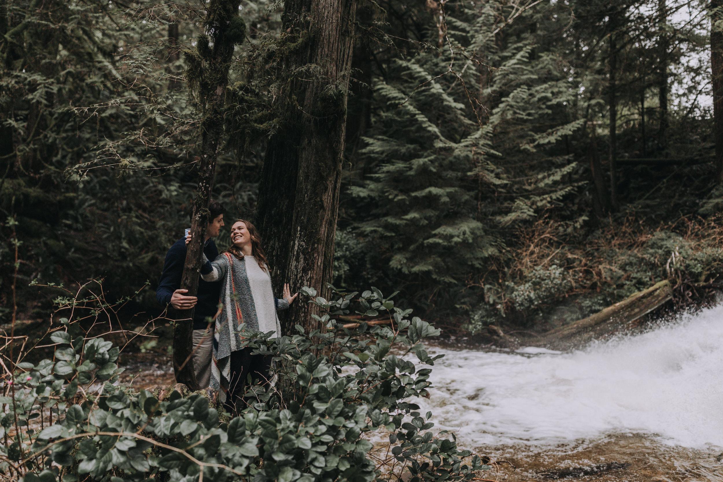 Forest Engagement Photos - Sunshine Coast BC Engagement Photos -  Sunshine Coast Wedding Photographer - Vancouver Wedding Photographer - Jennifer Picard400.JPG
