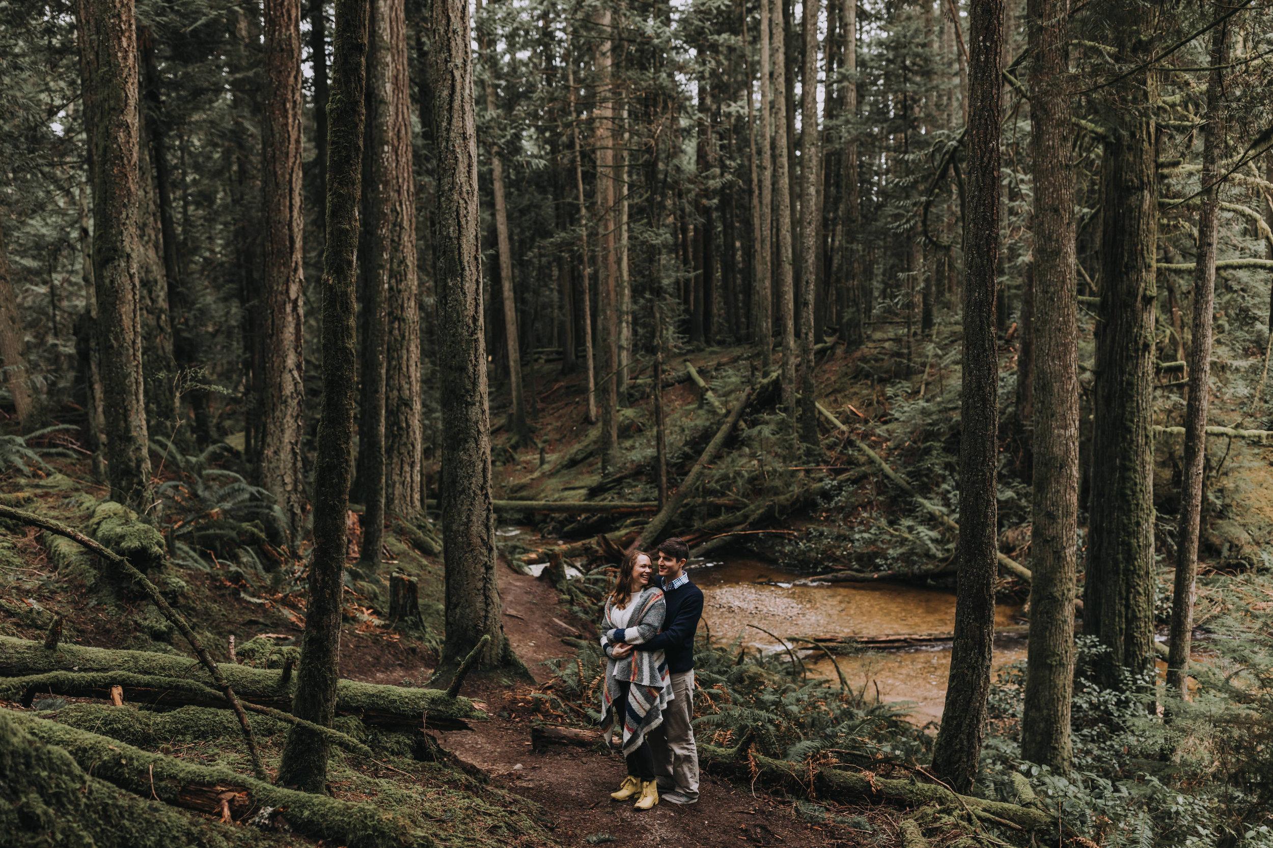 Forest Engagement Photos - Sunshine Coast BC Engagement Photos -  Sunshine Coast Wedding Photographer - Vancouver Wedding Photographer - Jennifer Picard403.JPG