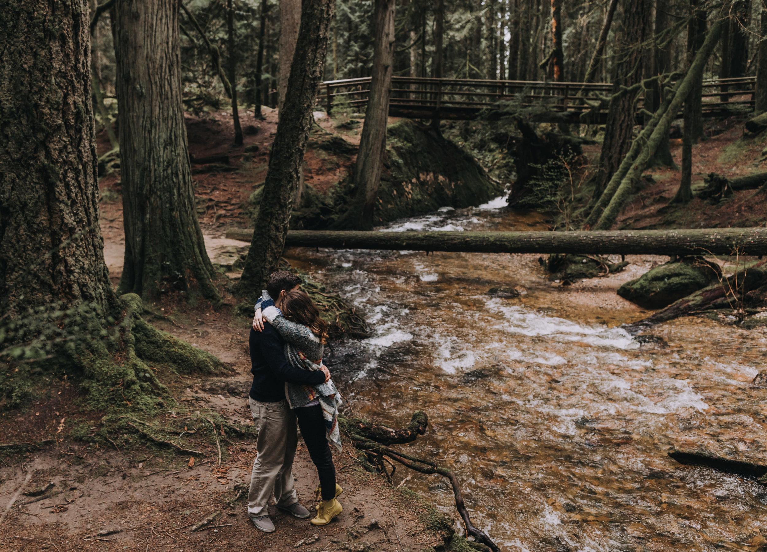 Forest Engagement Photos - Sunshine Coast BC Engagement Photos -  Sunshine Coast Wedding Photographer - Vancouver Wedding Photographer - Jennifer Picard406.JPG