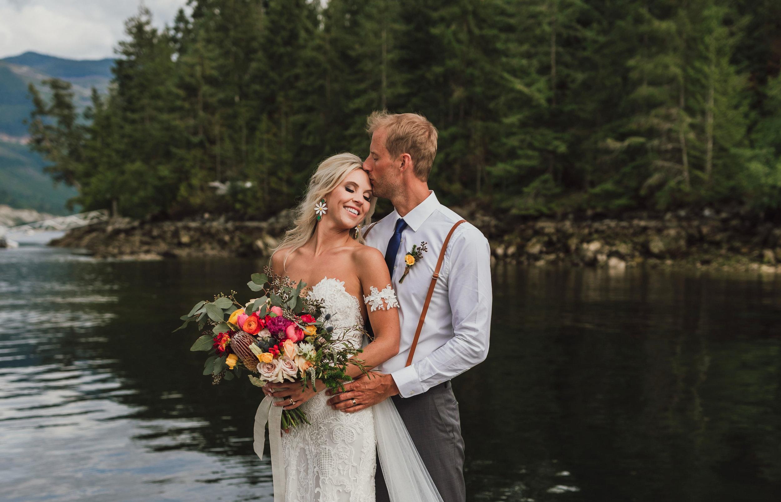 West Coast Wilderness Lodge Wedding Photos - Boho Wedding - Sunshine Coast BC Wedding Photographer -Vancouver Wedding Photographer - Jennifer Picard Photography - WEBSITE.jpg