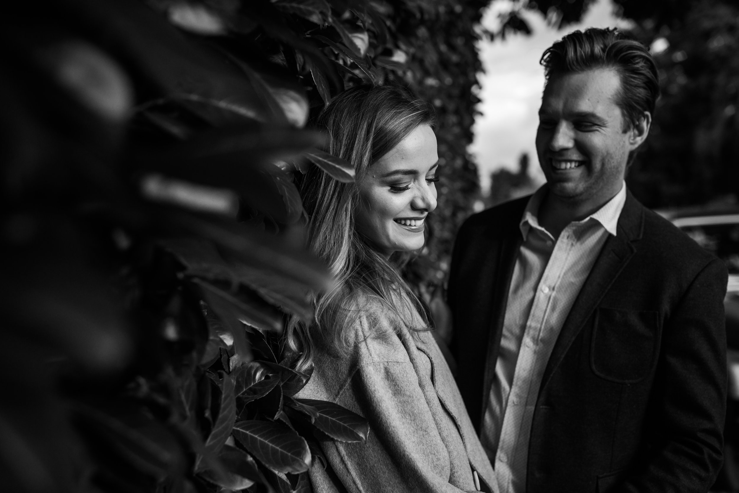 Autumn Kitsilano Engagement Session