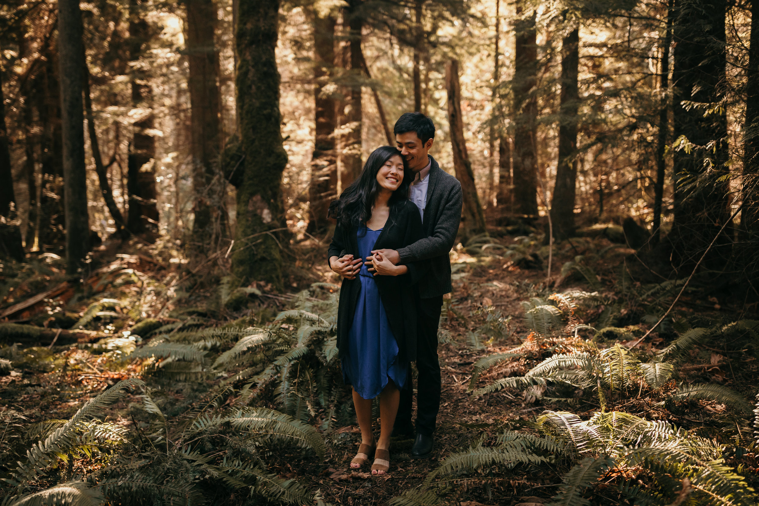 Sunshine Coast Forest Engagement Photos — Jennifer Picard Photography — Vancouver Wedding Photographer & Videographer — 374.JPG
