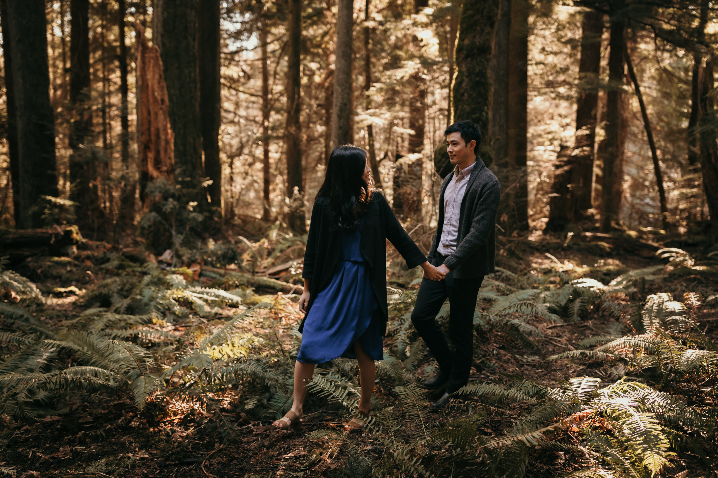 Sunshine Coast Forest Engagement Photos — Jennifer Picard Photography — Vancouver Wedding Photographer & Videographer — 379.JPG
