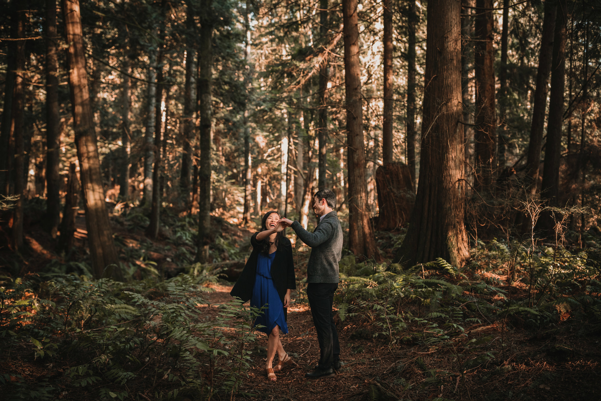 Sunshine Coast Forest Engagement Photos — Jennifer Picard Photography — Vancouver Wedding Photographer & Videographer — 383.JPG