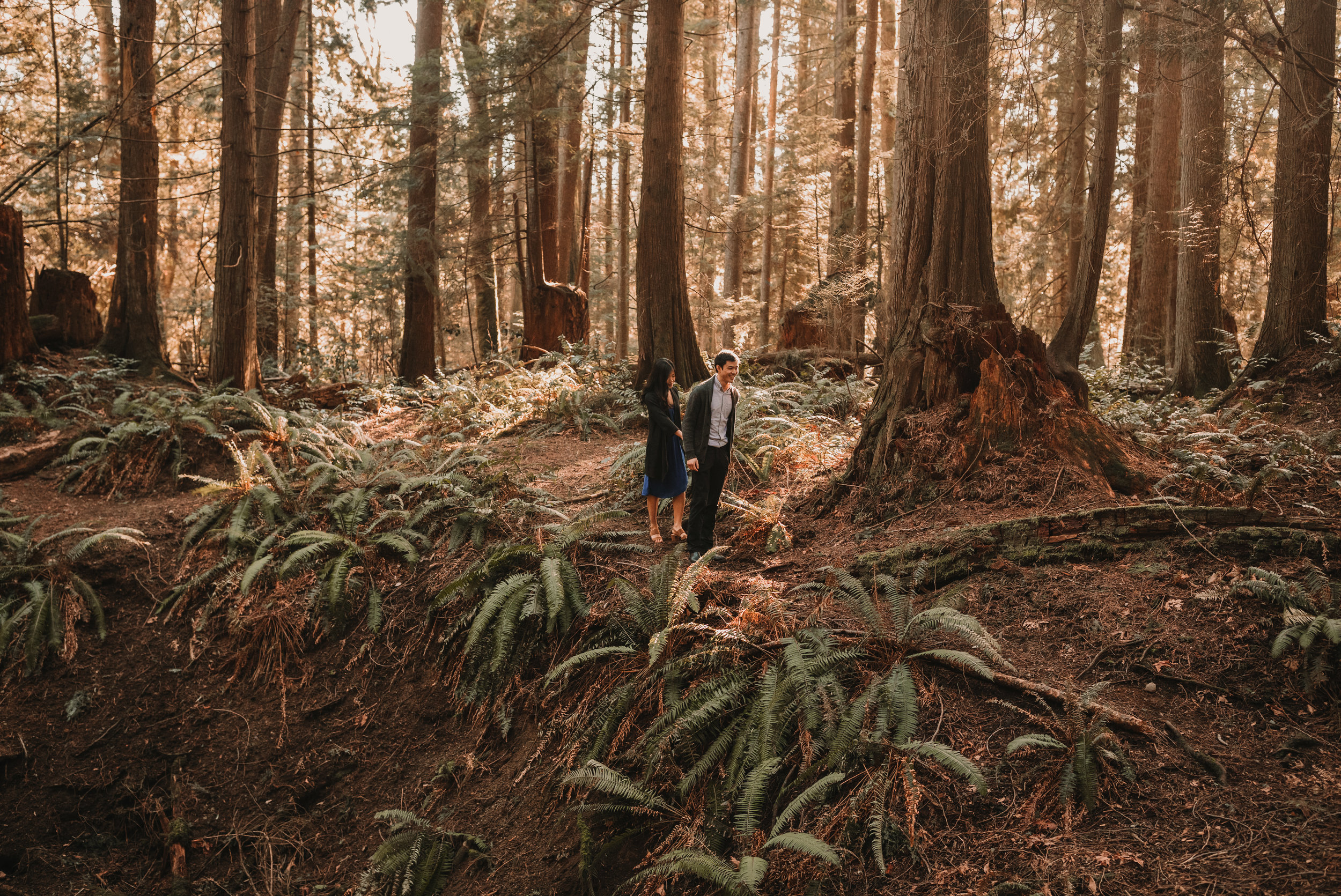 Sunshine Coast Forest Engagement Photos — Jennifer Picard Photography — Vancouver Wedding Photographer & Videographer — 399.JPG