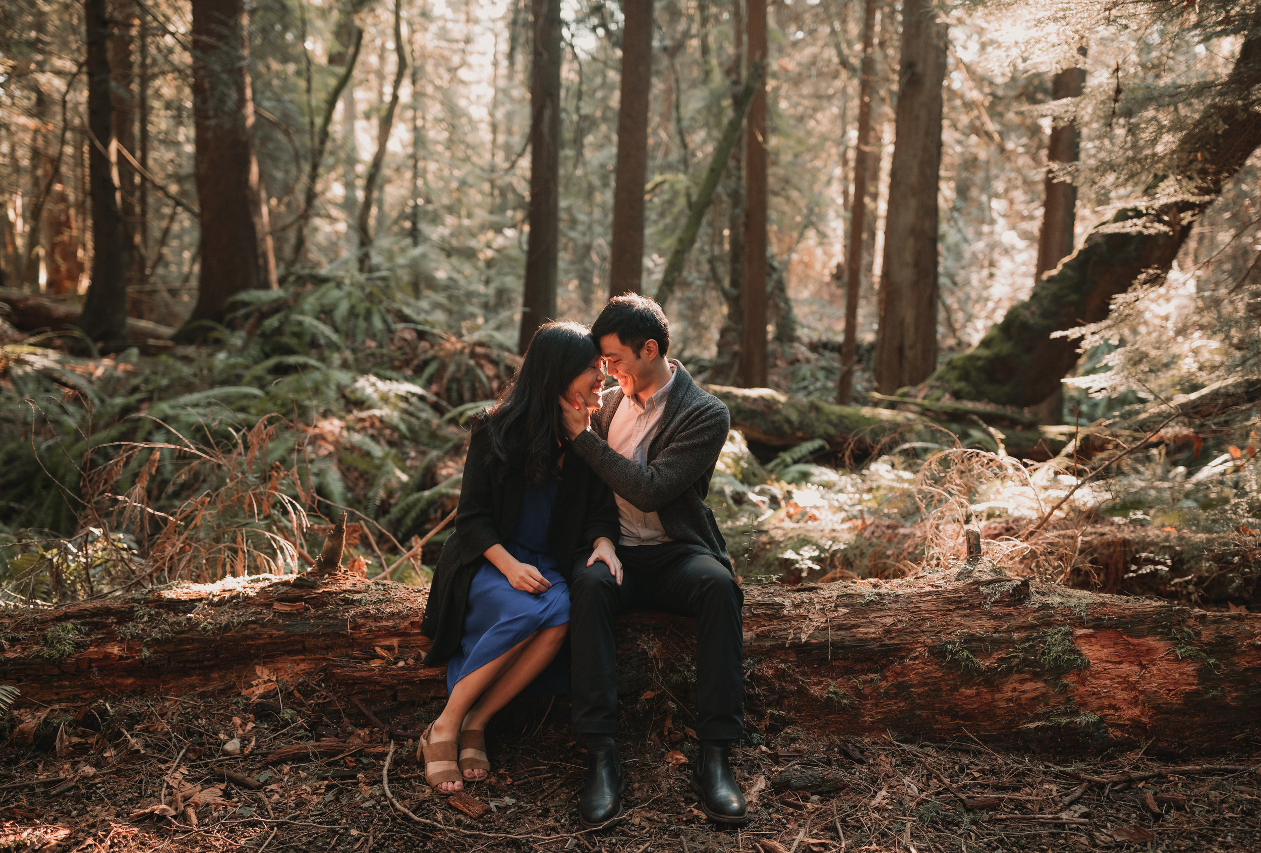 Sunshine Coast Forest Engagement Photos — Jennifer Picard Photography — Vancouver Wedding Photographer & Videographer — 402.JPG
