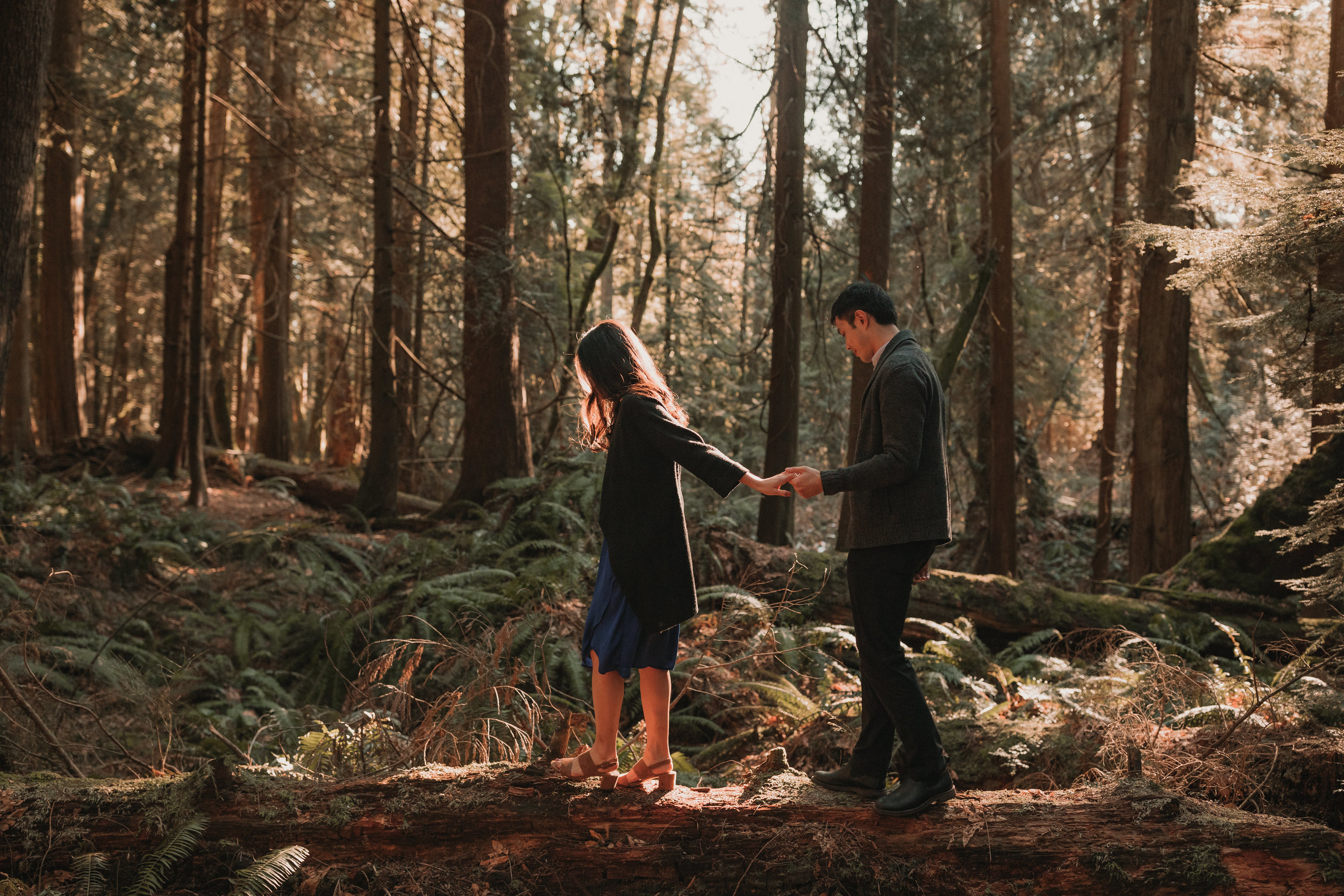 Sunshine Coast Forest Engagement Photos — Jennifer Picard Photography — Vancouver Wedding Photographer & Videographer — 406.JPG