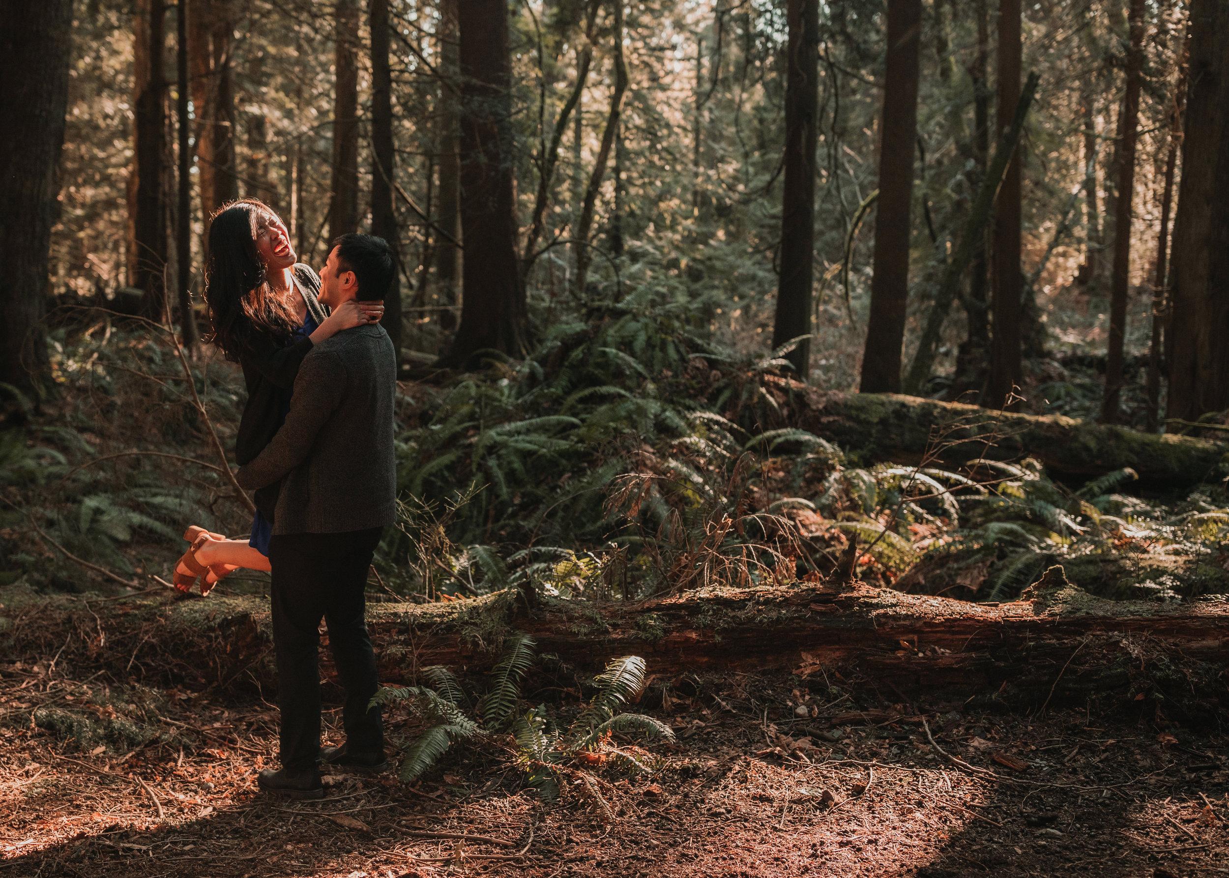 Sunshine Coast Forest Engagement Photos — Jennifer Picard Photography — Vancouver Wedding Photographer & Videographer — 409.JPG