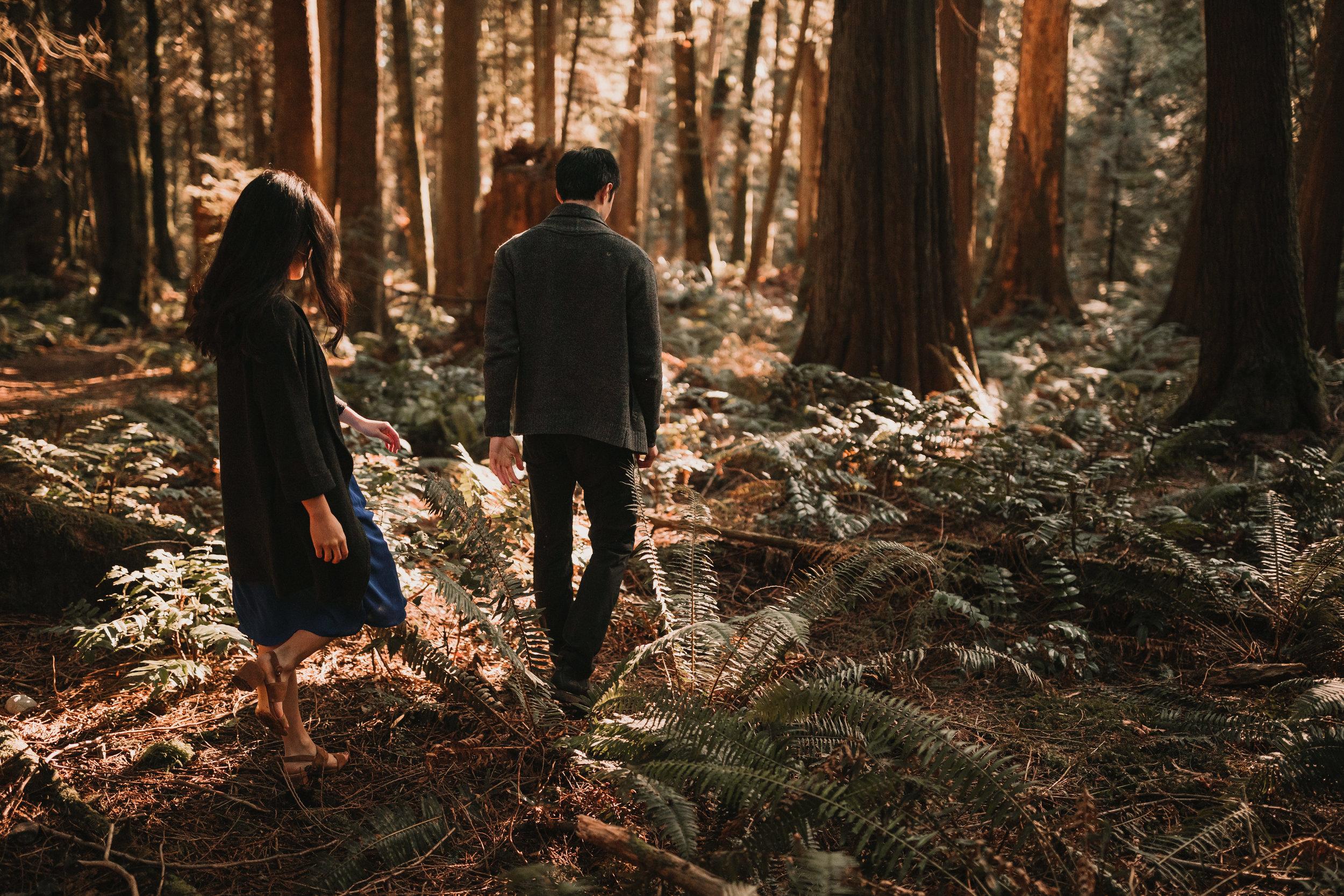 Sunshine Coast Forest Engagement Photos — Jennifer Picard Photography — Vancouver Wedding Photographer & Videographer — 416.JPG