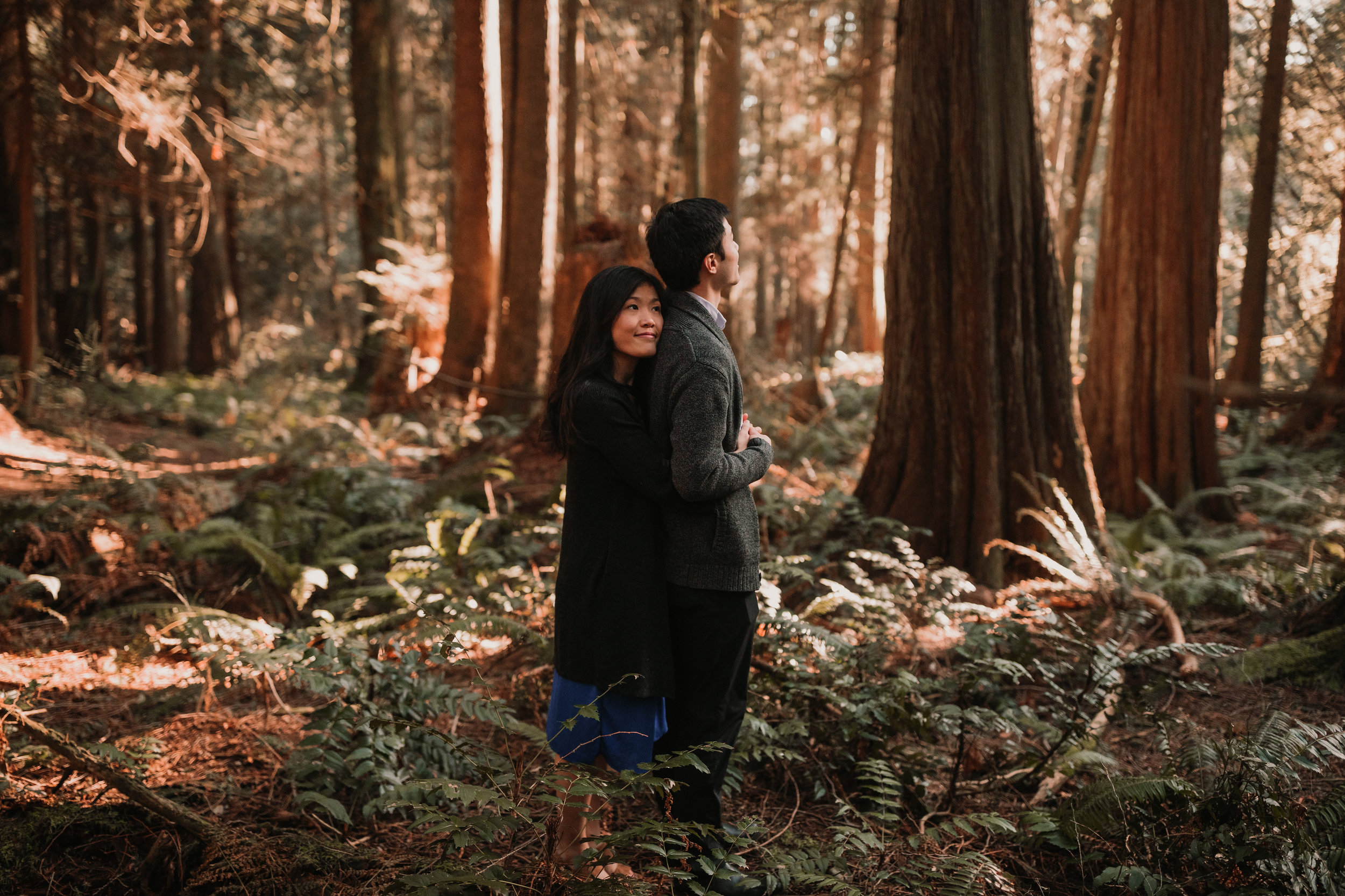 Sunshine Coast Forest Engagement Photos — Jennifer Picard Photography — Vancouver Wedding Photographer & Videographer — 420.JPG