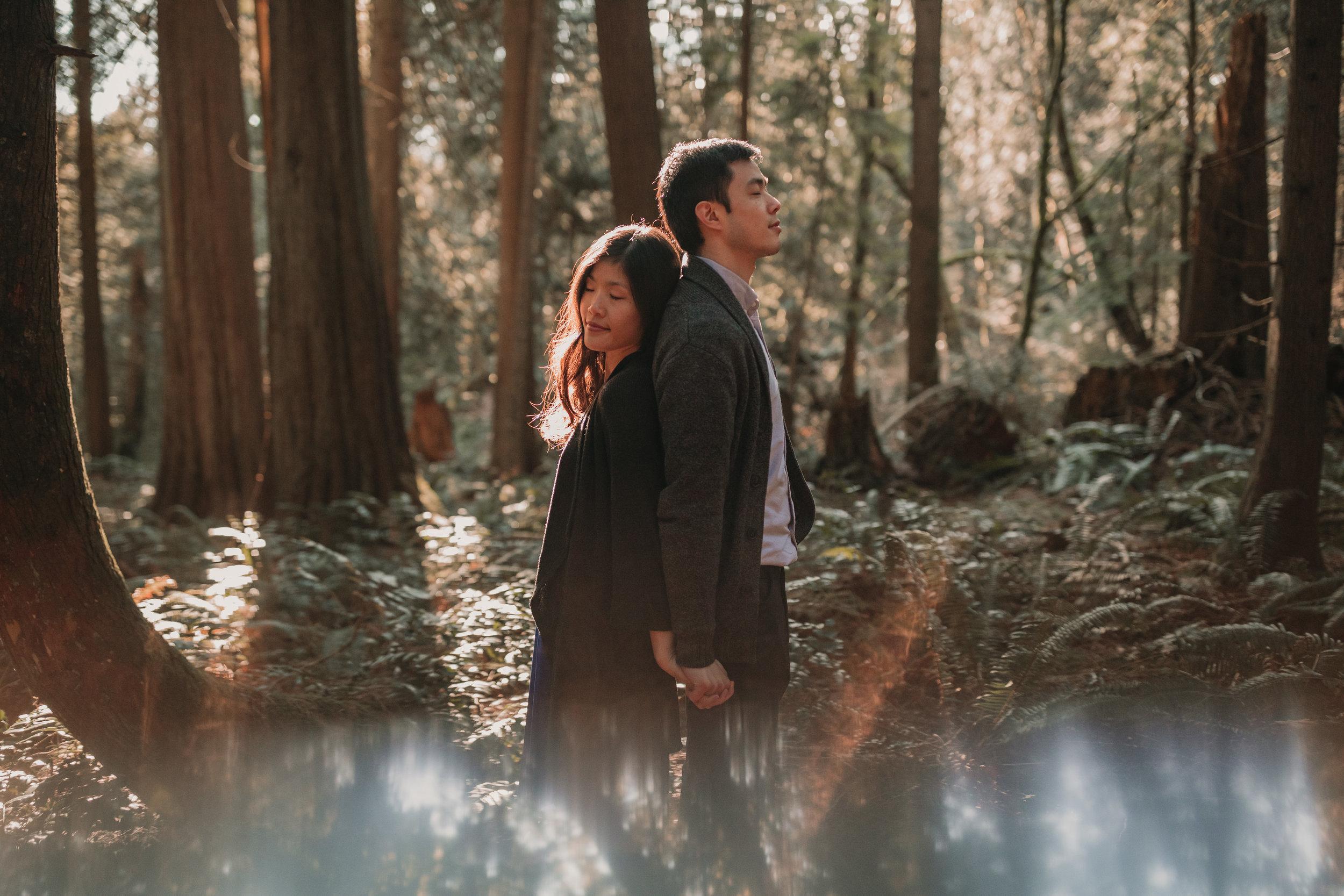 Sunshine Coast Forest Engagement Photos — Jennifer Picard Photography — Vancouver Wedding Photographer & Videographer — 430.JPG