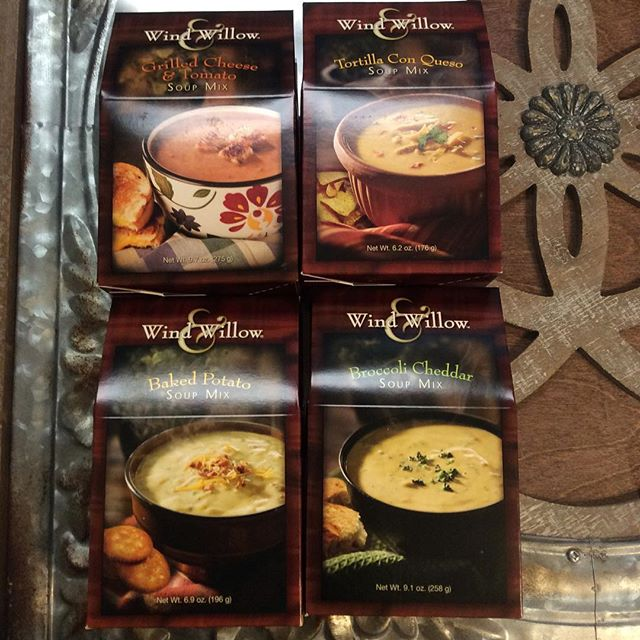 These soups from Wind & Willow are absolutely devine! The best part is to make them it's easy as adding water! #serendipityofmarshall #marshallmi #shoplocal