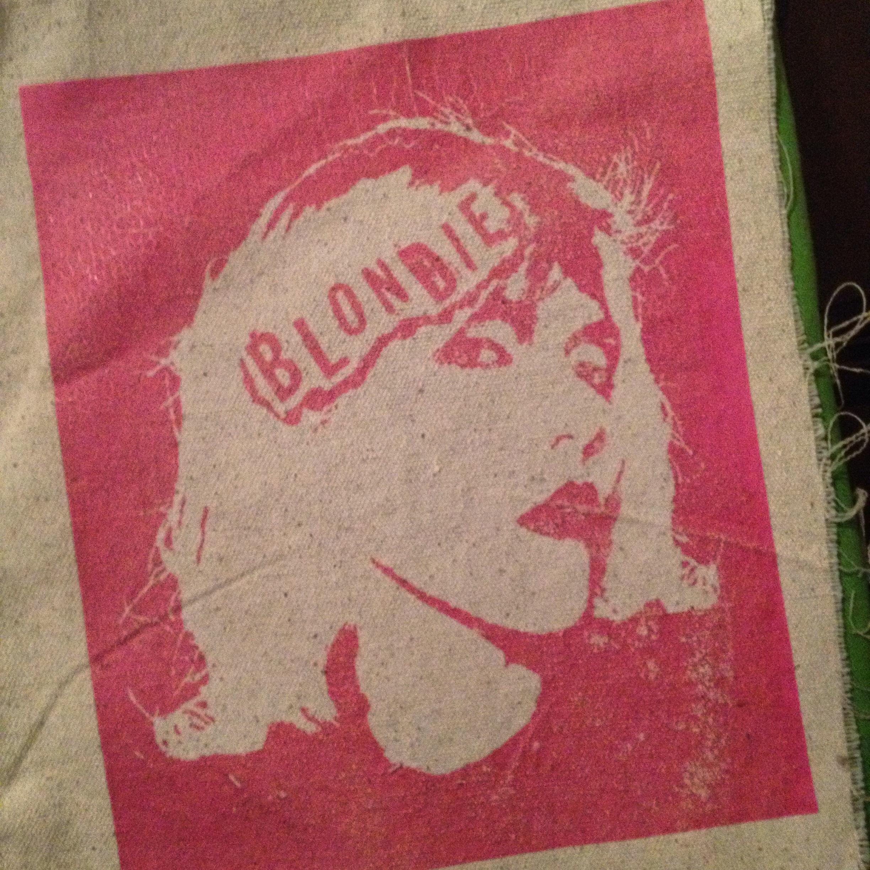 Dylan Garrett Smith blondie decoden punk vest patch